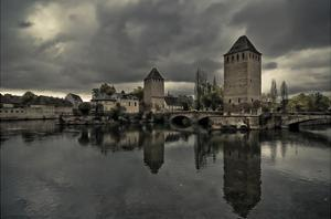 The Medieval Bridge, Ponts Couverts by Sabri Irmak