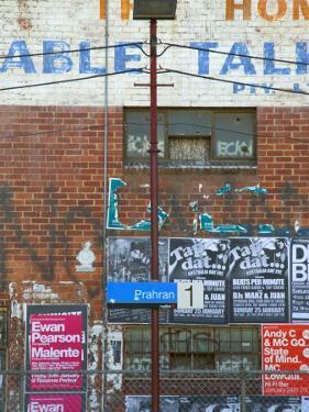 Nightclub Bill Posters at Prahran Train Station by Sabrina Dalbesio