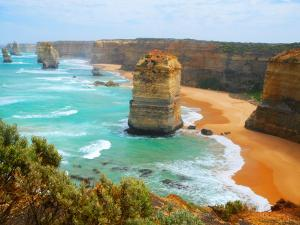 The Twelve Apostles Stone Formations by Sabrina Dalbesio