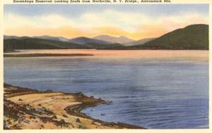 Sacandaga Reservoir, Northville, New York