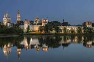 Novodevichy Convent at Night. by Sachkov