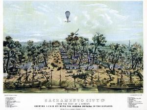 Sacramento, California, 1849