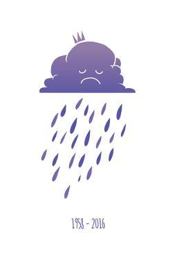 Sad Purple Rain Cloud