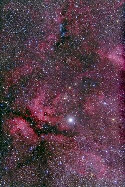 Sadr Region of Cygnus around Gamma Cygni