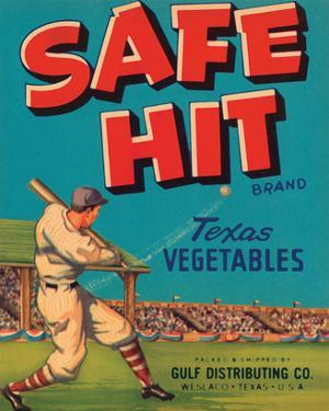 Safe Hit Brand Texas Vegetables