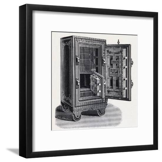 Safe on Wheels C1900--Framed Giclee Print
