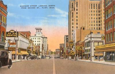 Saginaw Street, Flint, Michigan