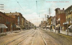 Saginaw Street, Pontiac, Michigan