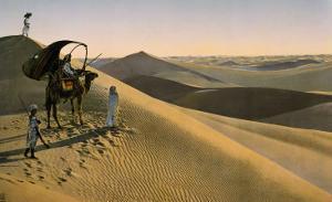 Sahara desert, Egypt, Late 19th - Early 20th century