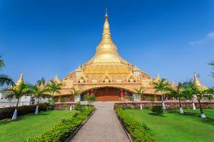 Global Vipassana Pagoda by saiko3p