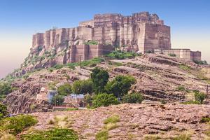 Mehrangarh Fort, Jodhpur by saiko3p