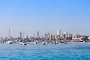 Mumbai Skyline by saiko3p