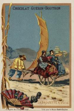 Sail-Powered Wheelbarrow
