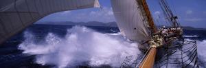 Sailboat in the Sea, Antigua, Antigua and Barbuda