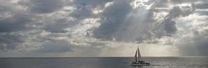 Sailboat in the Sea, Negril, Jamaica