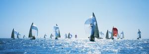 Sailboat Race, Key West Florida, USA