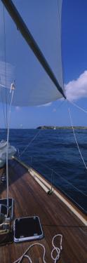 Sailboat Racing in the Sea, Grenada
