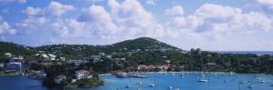 Sailboats in the Sea, Cruz Bay, St. John, US Virgin Islands