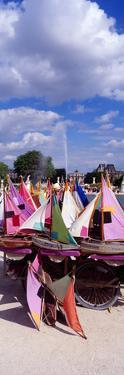 Sailboats Tuilleries Paris France