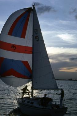 Sailing at Dusk, C.1990
