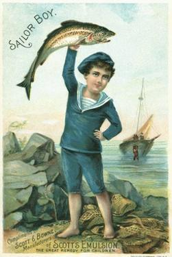 Sailor Boy Trade Card