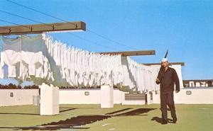 Sailor Guarding Laundry