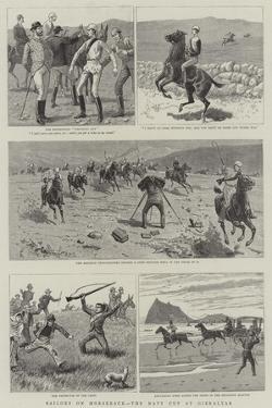 Sailors on Horseback, the Navy Cup at Gibraltar