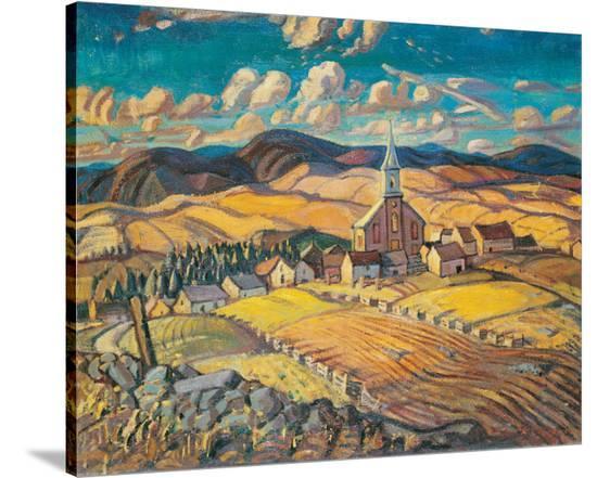 Saint-Hilarion-Arthur Lismer-Stretched Canvas Print