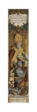 Saint Martin of Tours with Gottfried Werner Von Zimmern and a Beggar