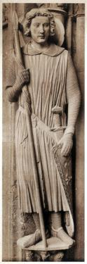 Saint Theodore, Cathedral of Chartres, France, 13th Century