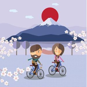 Travel in Japan by Sajja