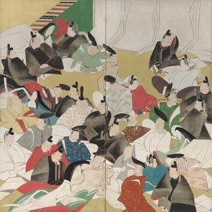 Thirty-Six Poets, Edo Period by Sakai Hoitsu
