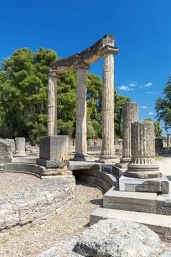 Archaeological Site of Olympia, an ancient site on Greece's Peloponnese peninsula, Greece by Sakis Papadopoulos