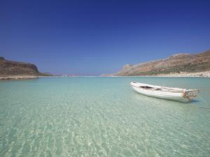 Balos Bay and Gramvousa, Chania, Crete, Greek Islands, Greece, Europe by Sakis Papadopoulos