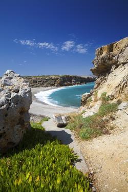 Beach in Rethymno, Crete, Greek Islands, Greece, Europe by Sakis Papadopoulos