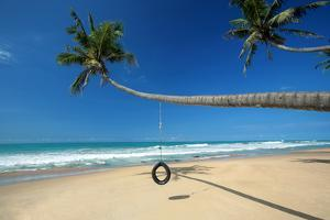 Beach near Galle, Sri Lanka by Sakis Papadopoulos