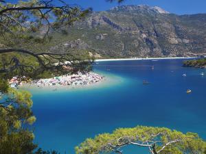 Oludeniz Beach, Fethiye, Anatolia, Turkey, Asia Minor, Eurasia by Sakis Papadopoulos