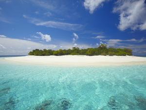 Uninhabited Island, Maldives, Indian Ocean, Asia by Sakis Papadopoulos