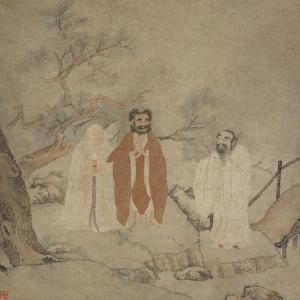 Sakyamuni, Laozi and Confucius, Between 1368 and 1644