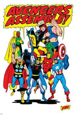 Giant-Size Avengers/Invaders No.1 Group: Thor by Sal Buscema