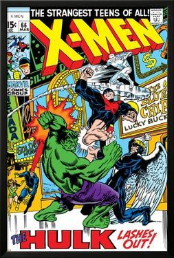 X-Men No.66 Cover: Hulk, Beast, Iceman and Angel by Sal Buscema