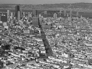 San Francisco Aerial 1973 by Sal Veder