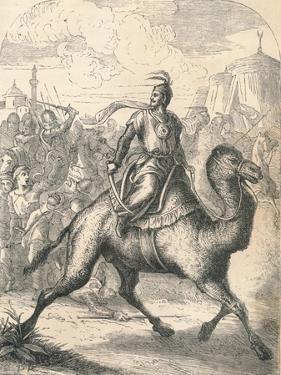 Saladin Escaping on a Swift Dromedary, 1869