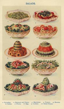 Salads, Isabella Beeton, UK