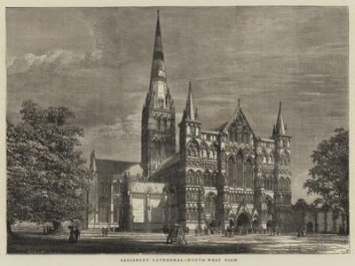Salisbury Cathedral, North-West View