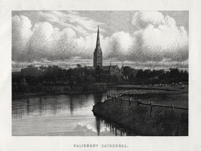 Salisbury Cathedral, Wiltshire, England, 19th Century