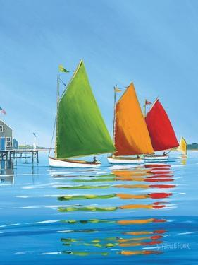 Cape Cod Sail by Sally Caldwell Fisher