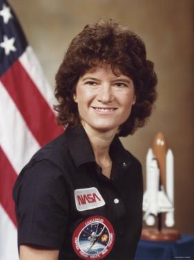 Sally Ride, astronaut who became first Amer. woman in space aboard Space Shuttle Challenger II