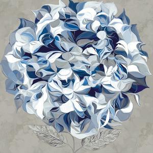 Elegant Hydrangea I by Sally Scaffardi