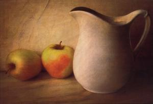 APPLES AND PITCHER by Sally Wetherby